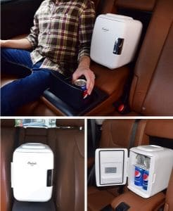 Best Mini Refrigerator for Versatility Cooluli Mini Fridge with Electric Cooler and Warmer