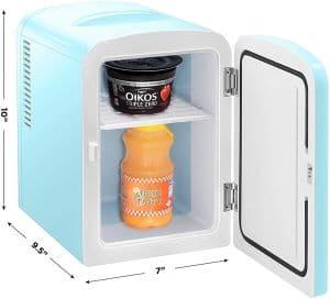 Best Portable Mini Fridge Chefman Mini Portable Compact Personal Fridge