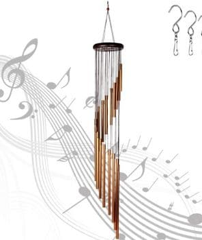 Epartswide Wind Chimes, Garden Chimes with 18 Aluminum Alloy Tubes