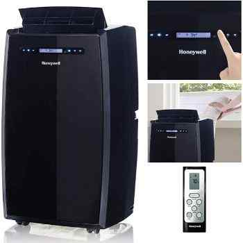 Honeywell Portable Air Conditioner 14,000 BTU (Black MN14CCSBB)