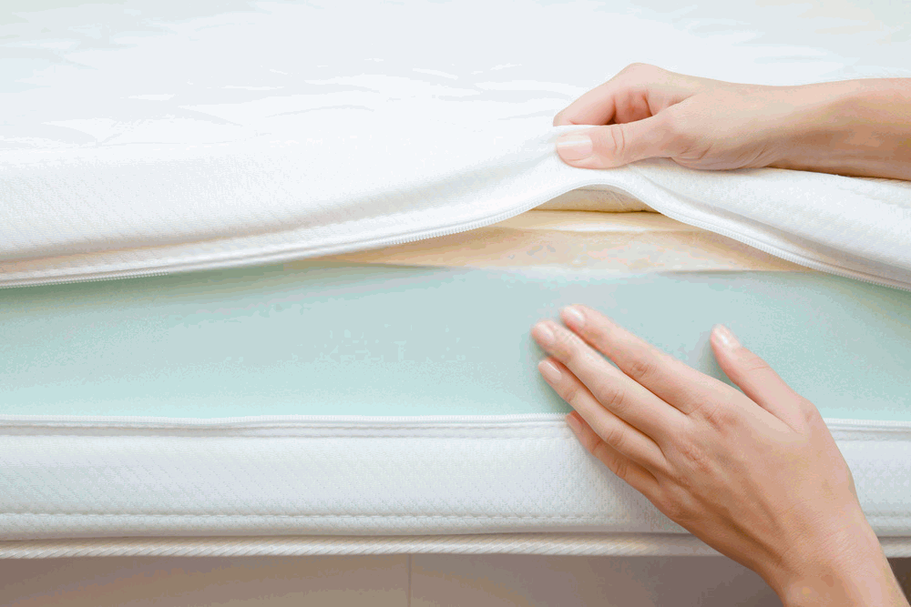 Keep Mattress Topper from Sliding