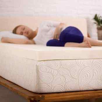 SleepJoy 2-Inch ViscO2 Memory Foam Mattress Topper