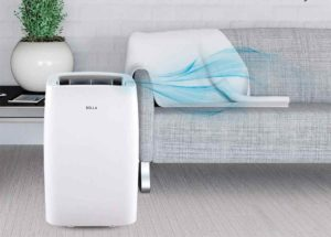 della 14,000 btu portable air conditioner