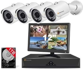 Jenova HD Poe Home Security Camera System