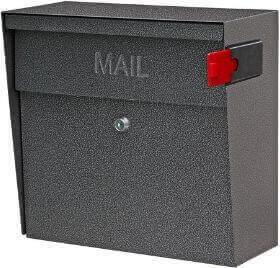 Mail Boss Metro 7160 – Best Easy to Install Locking Mailbox